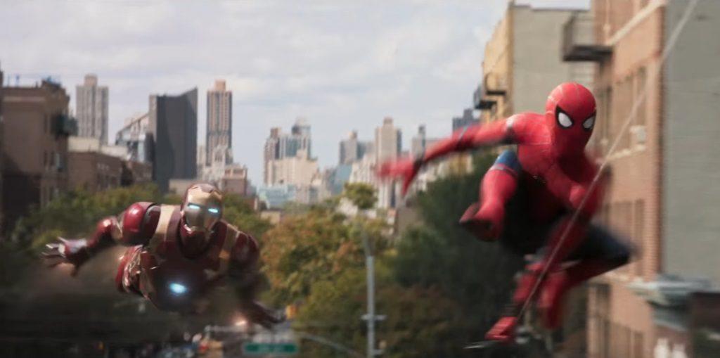 Spider-Man und Iron Man