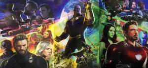 Avengers Infinity War Poster Comic-Con